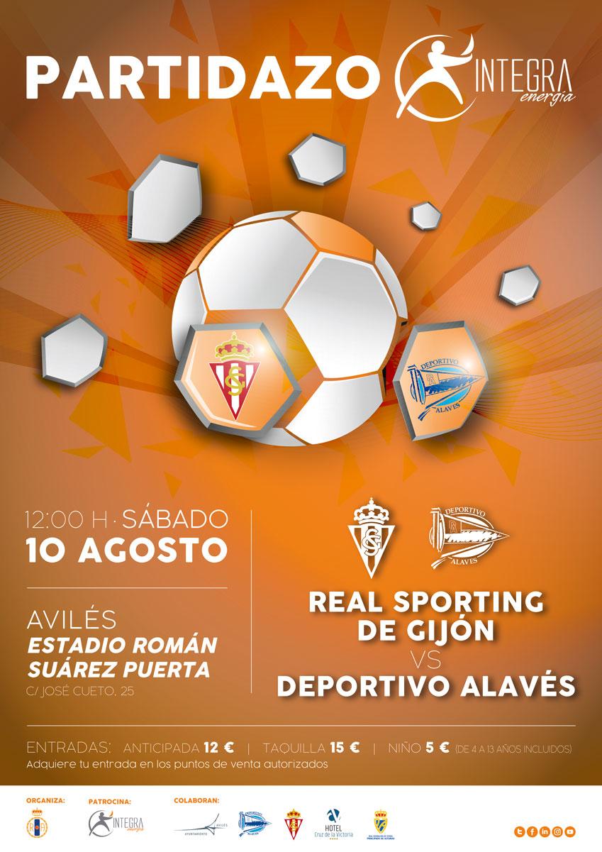 Partidazo Real Sporting - Deportivo Alaves